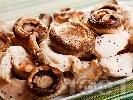 Рецепта Пилешки филенца с гъби печурки и сос от портокал, мед и горчица
